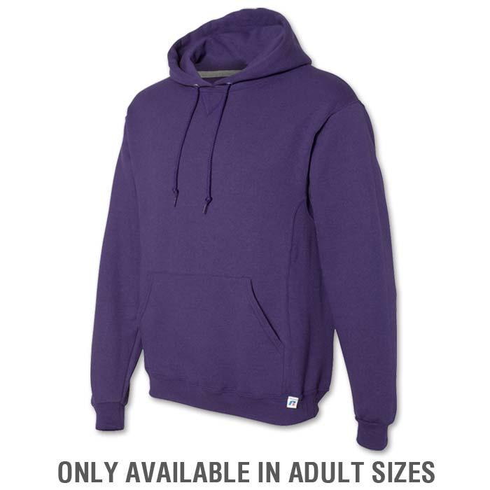 Russell Dri-Power Hoodie in Purple