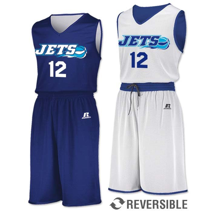 Russell Undivided Reversible Basketball Uniform