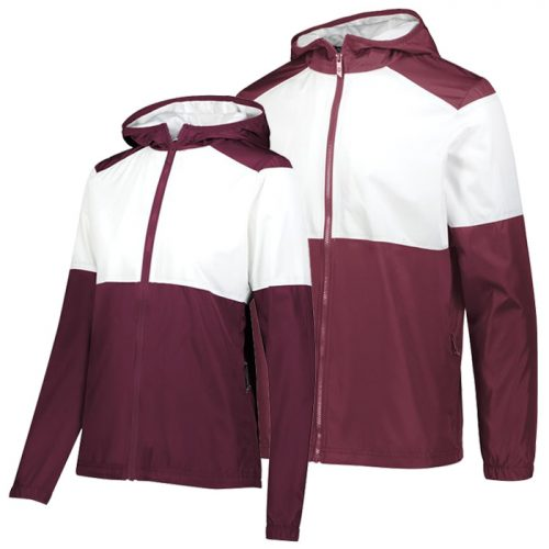 SeriesX Warmup Jacket in Maroon