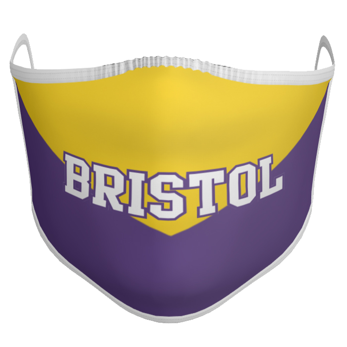 Custom Sublimated Face Mask Class Mask Chevron