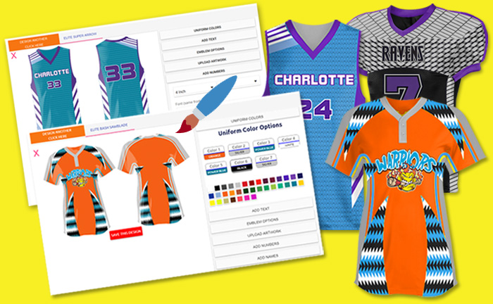 Design Your Own custom uniform