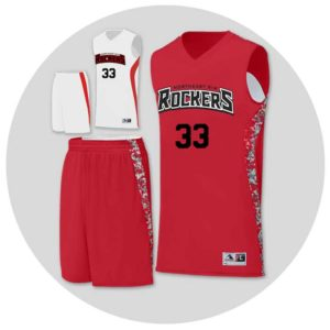 Reversible Basketball Team Uniforms