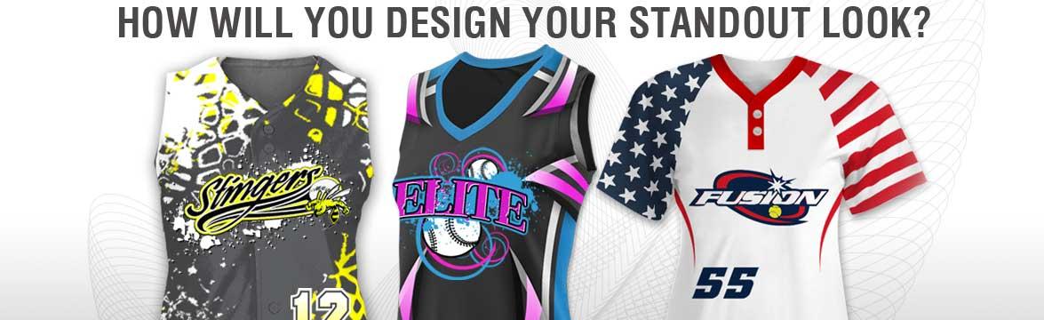 best service 48acb a4e3e Softball Uniform Packages - Fast Custom Deals | Team Sports ...