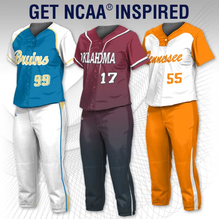 Fastpitch Uniforms NCAA Inspired