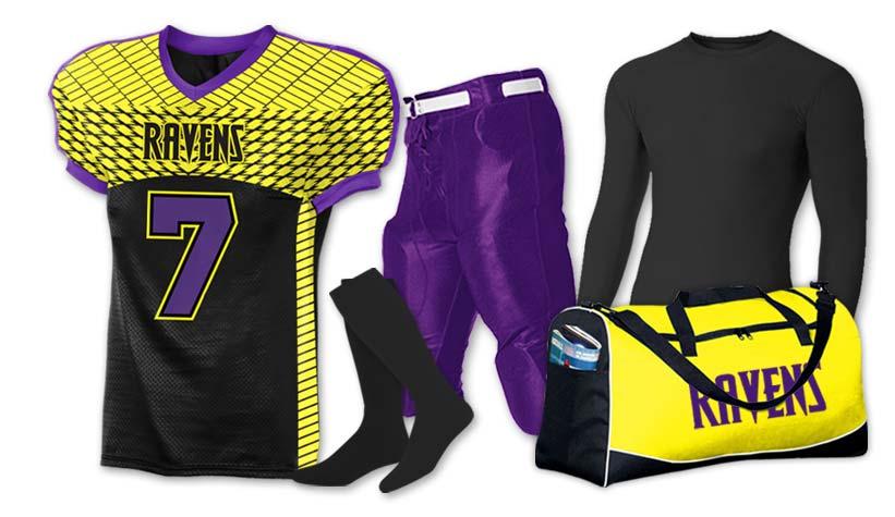 football team packs