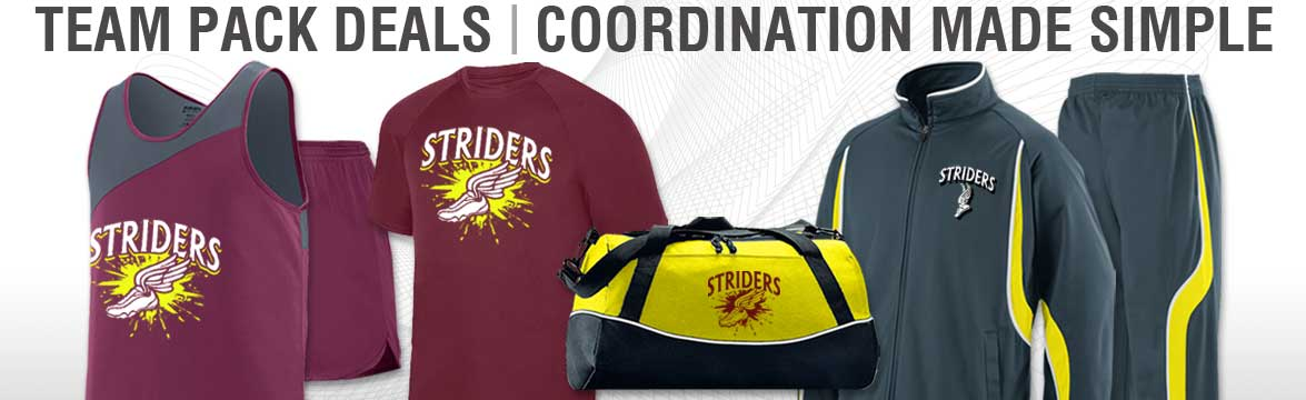 New Track Team Pack Deals from TSP