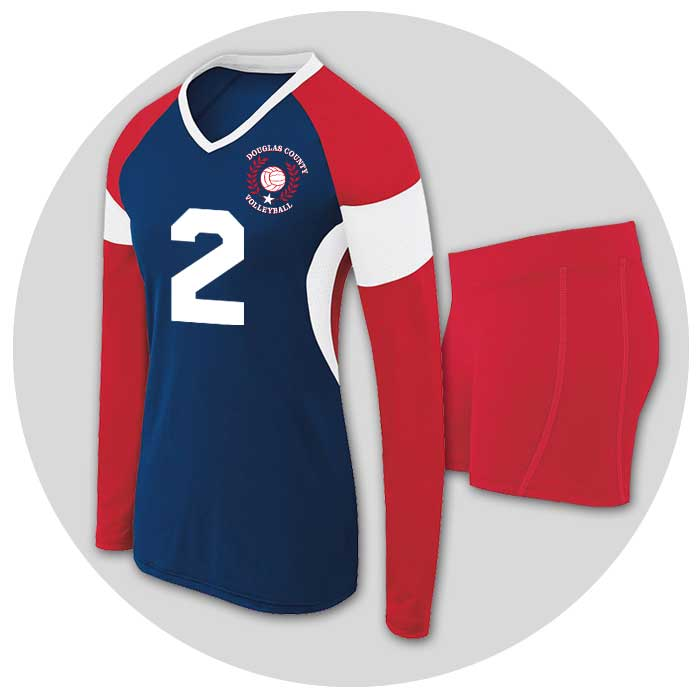Team Volleyball Uniforms