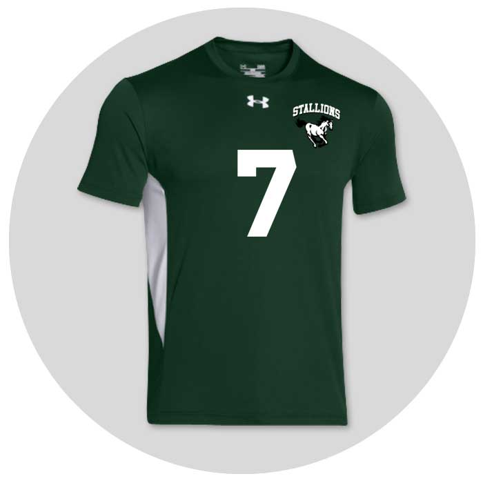 Men's Under Armour Team Volleyball Uniforms
