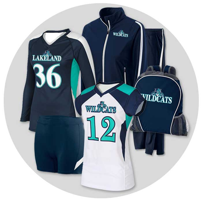 Volleyball Uniforms: Team Pack Deals