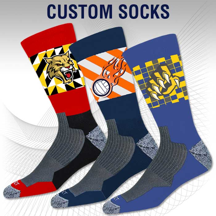 Pro Ink Custom Sublimated Crew Socks