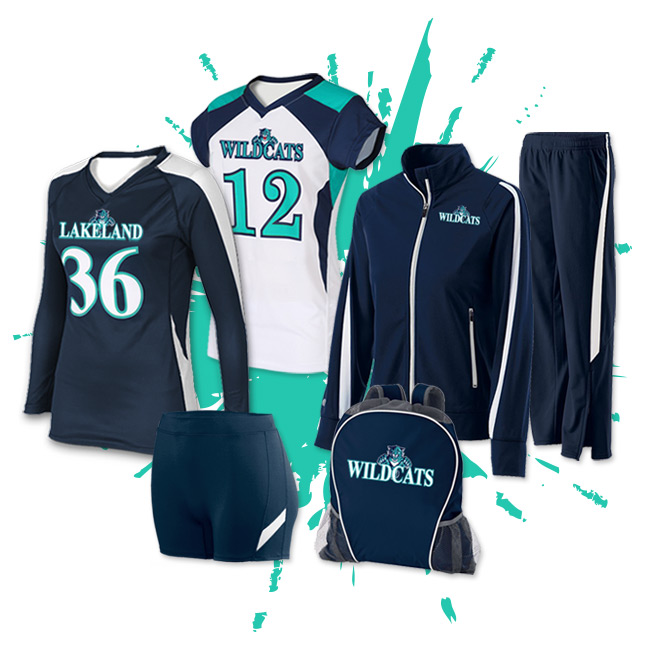 volleyball team packs
