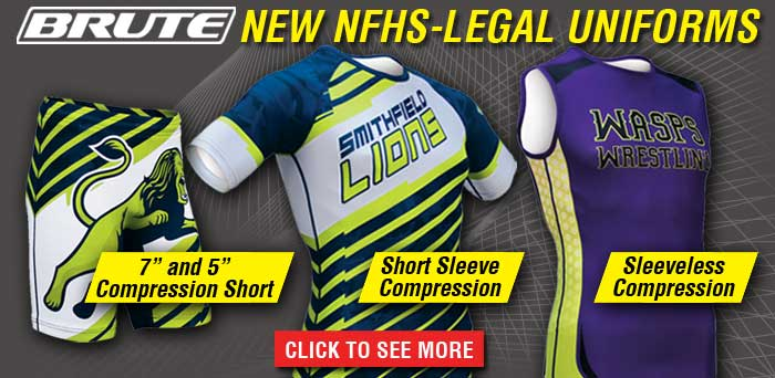 Brute 2-piece wrestling uniforms approved by NFHS
