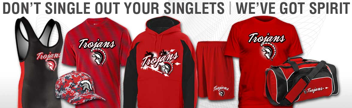 wrestling singlets, spirit wear and gear