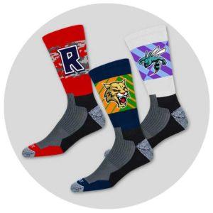 Wrestling Uniforms: Custom Team Crew Socks