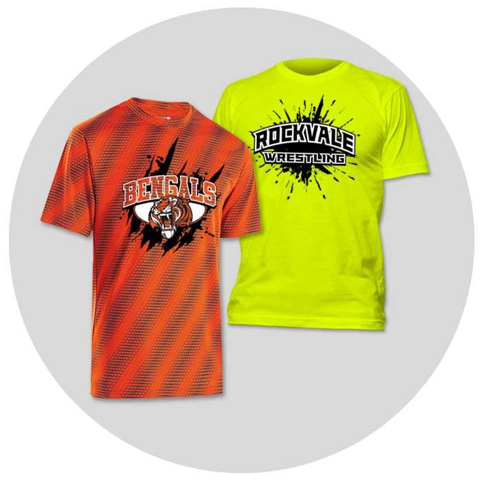 wrestling team spirit wear