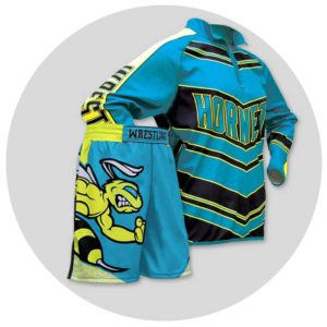 Wrestling Uniforms: Training Pullovers & Fight Shorts