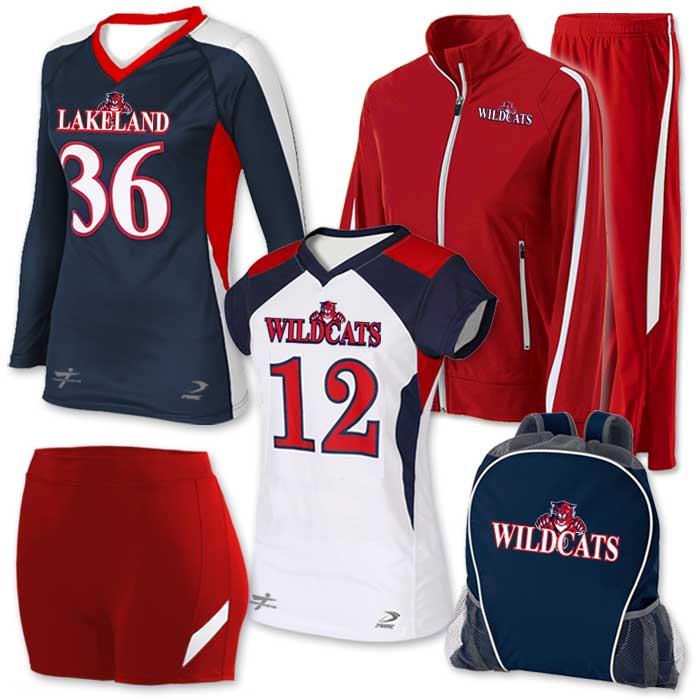 Custom Volleyball Uniform Team Pack Elite Chemistry