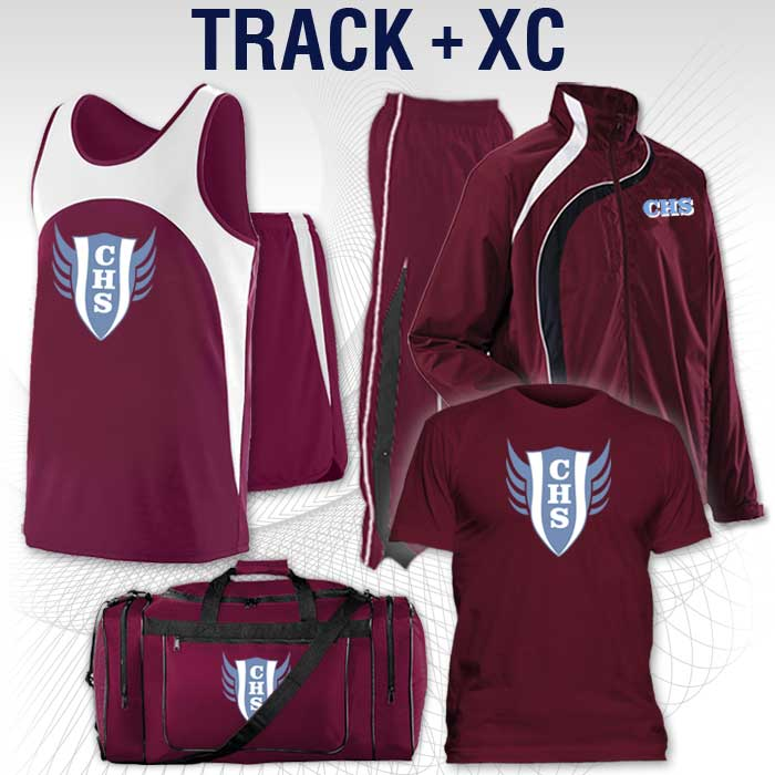 Track Uniforms, Warm-ups, Spirit Wear, Bags & More