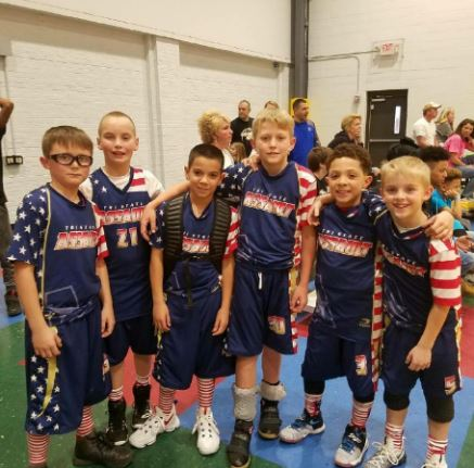 Tri-State Assault Youth Basketball Spreading Cheer