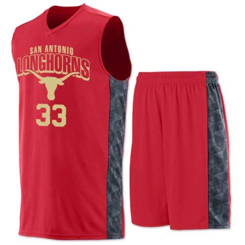 Augusta brand Ultra Geo Basketball Uniform