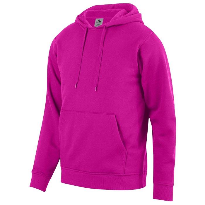 Unity Fleece Hoodie in Power Pink