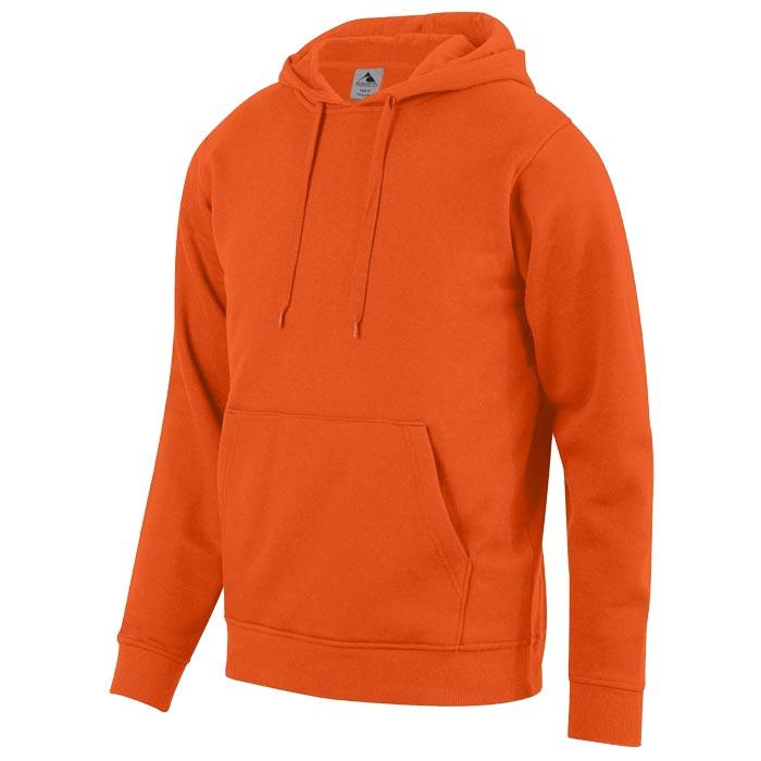 Unity Fleece Hoodie in Orange