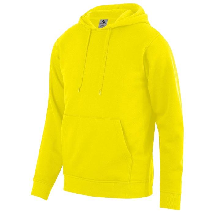 Unity Fleece Hoodie in Power Yellow
