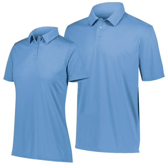 Vital Polo Shirt in Columbia Blue