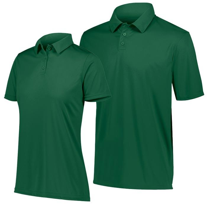 Vital Polo Shirt in Dark Green