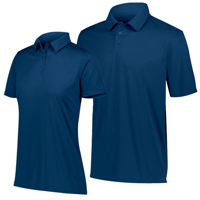 Vital Polo Shirt in Navy Blue