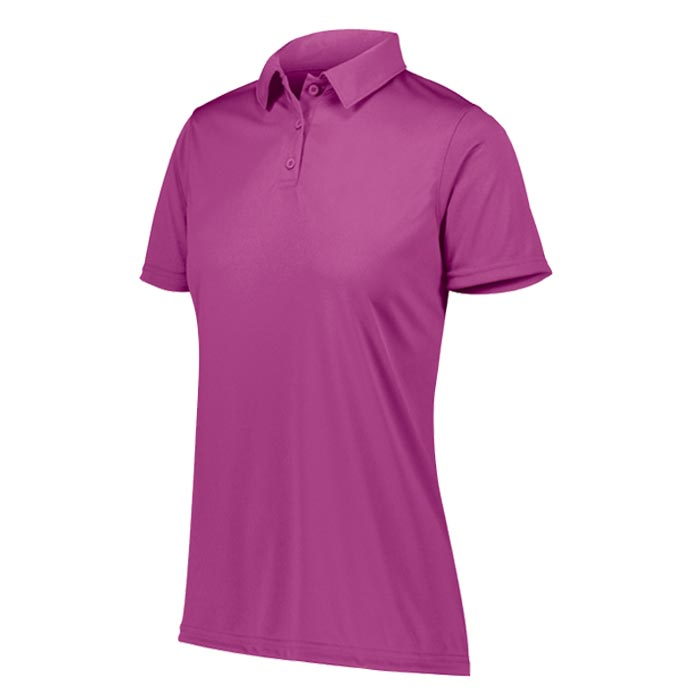 Womens Vital Polo Shirt in Power Pink