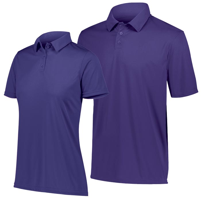 Vital Polo Shirt in Purple