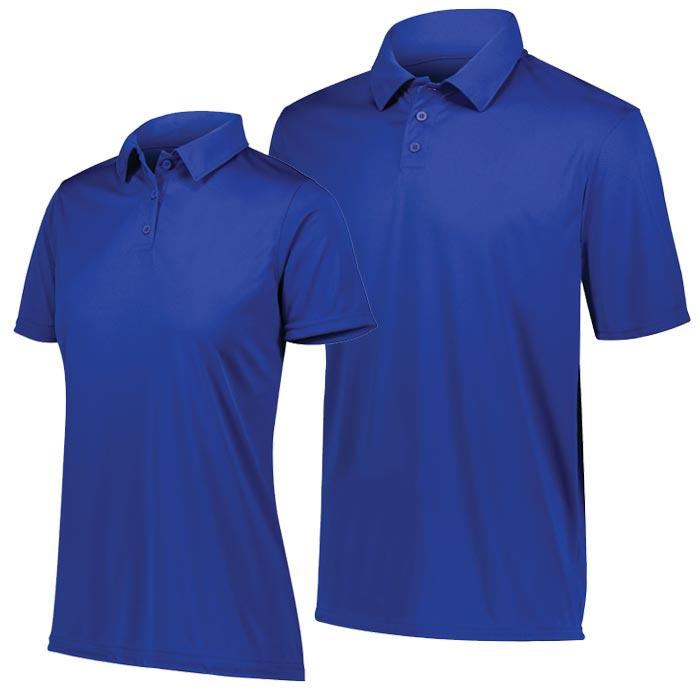 Vital Polo Shirt in Royal Blue