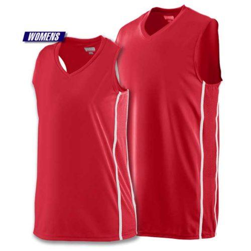 Augusta Winning Streak Basketball Uniform Jersey in Red