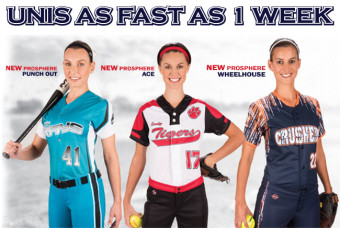 Softball Jerseys for Your Team, Done Fast