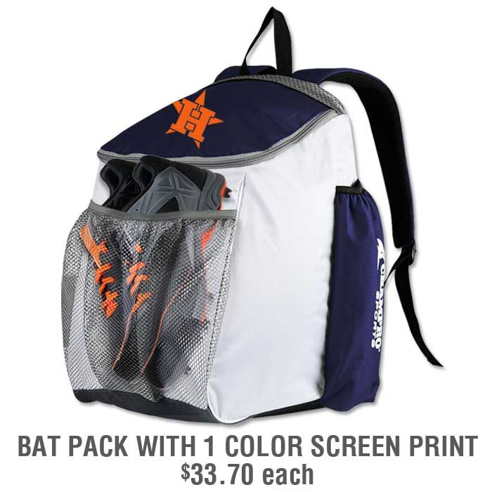 Baseball Team Pack Add-Ons: Personalized Bat Pack
