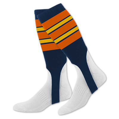 Custom Baseball Striped Stirrups