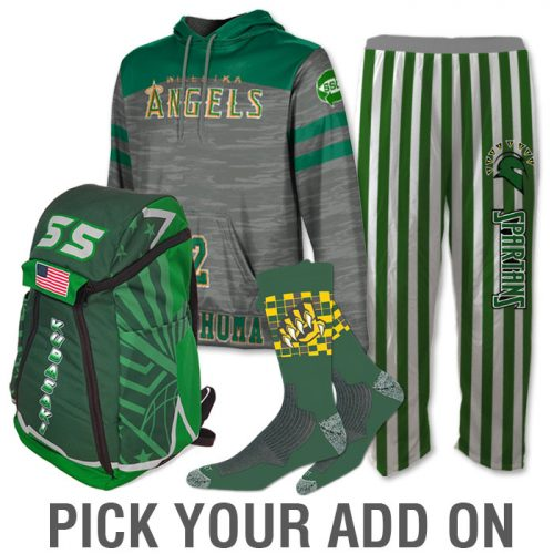 Basketball Team Pack Sublimated Add-Ons