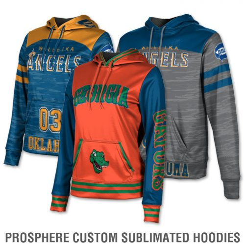 Basketball Team Pack Sublimated Add-Ons Custom Hoodies