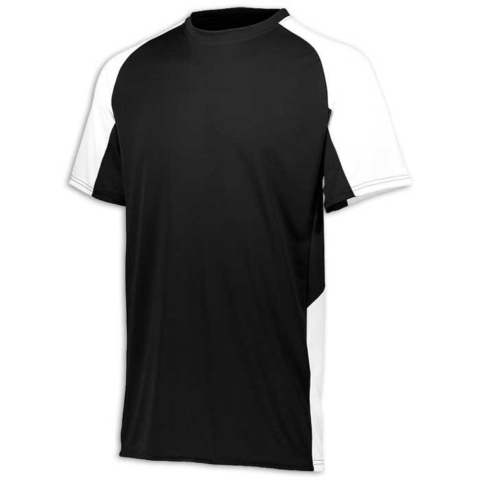 Black and White Cutter Baseball Uniform Jersey