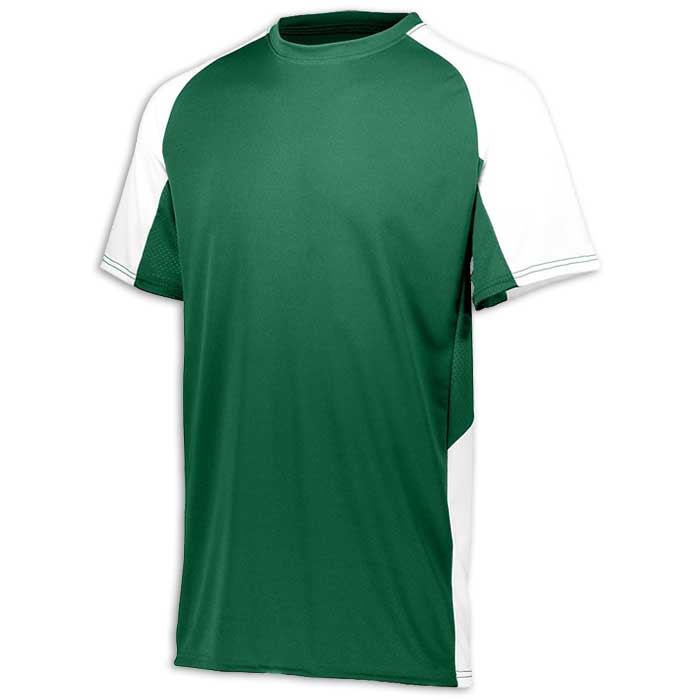 Forest Green and White Cutter Baseball Uniform Jersey