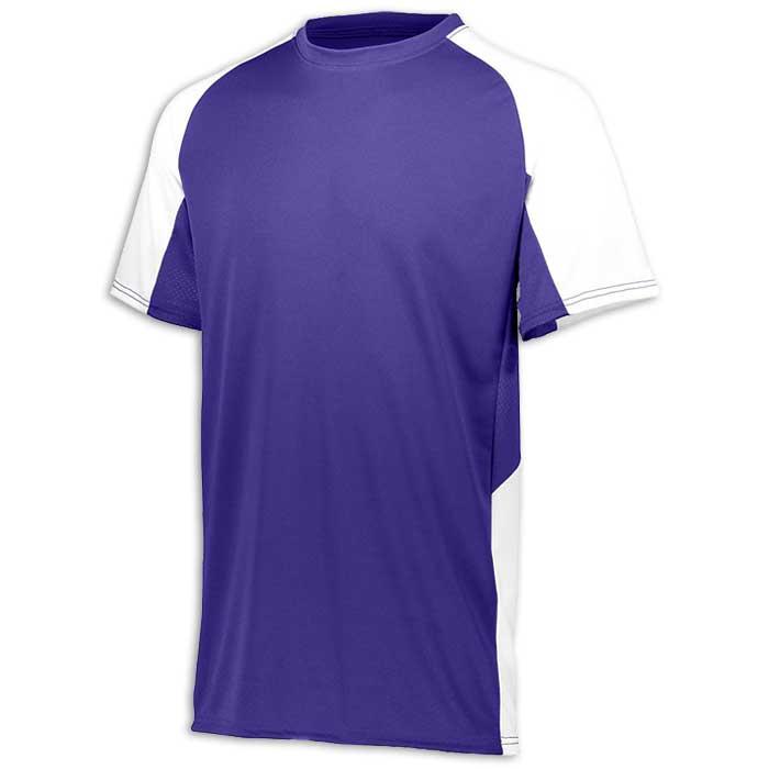 Purple and White Cutter Baseball Uniform Jersey