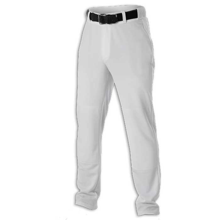 White Cutter Baseball Uniform Pants