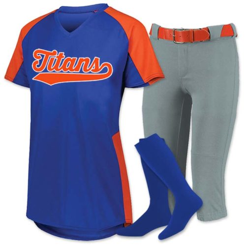 Cutter Fastpitch Uniform with Russell Athletic Knicker Pants