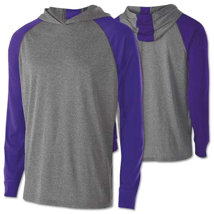 Men's Echo Lightweight Hoodie in Purple