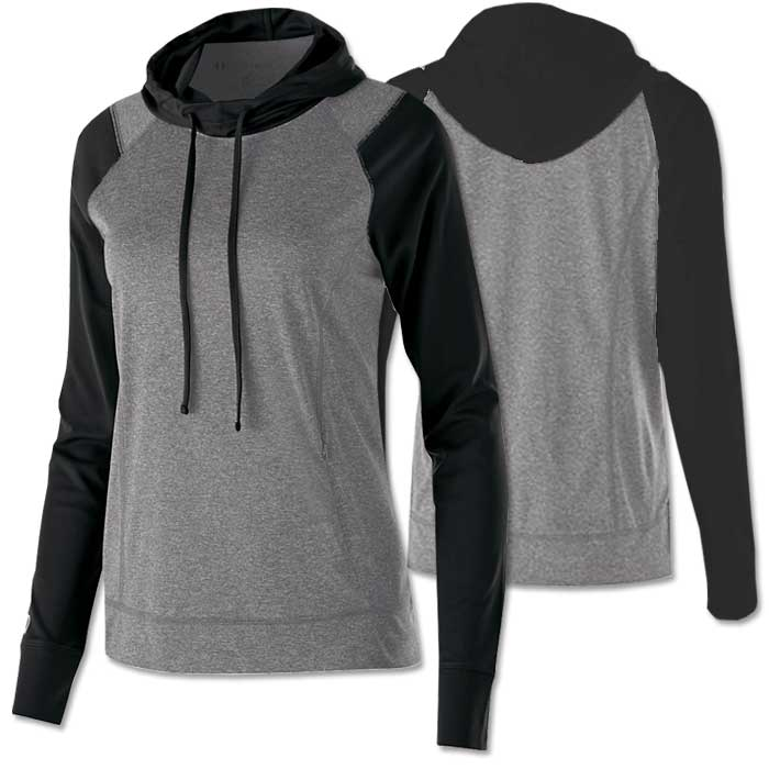 Women's Echo Lightweight Hoodie in Black