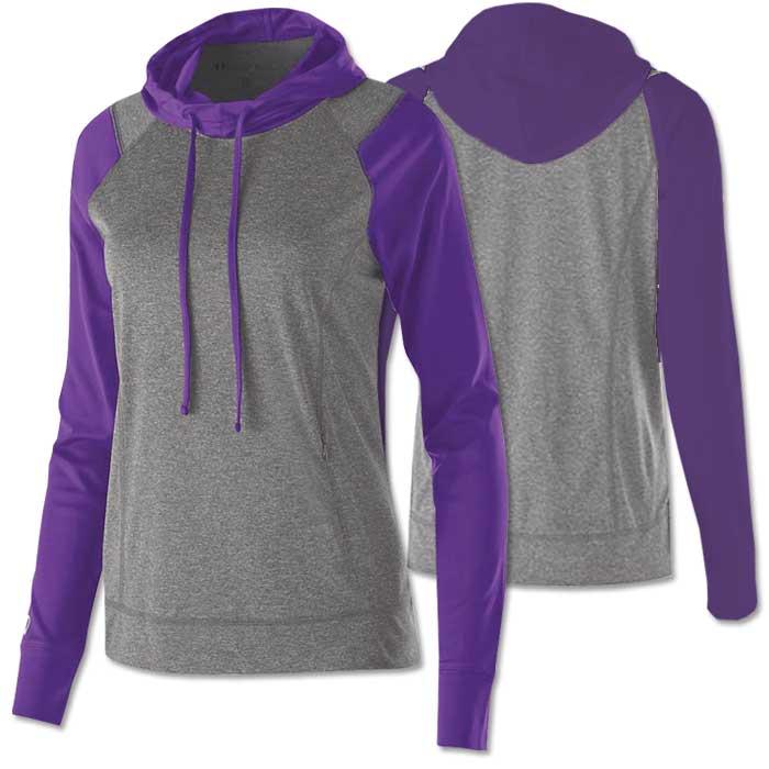 Women's Echo Lightweight Hoodie in Purple