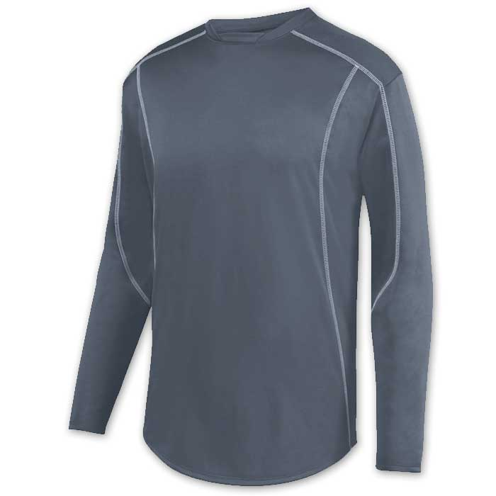 Graphite Edge Pullover Batting Jacket