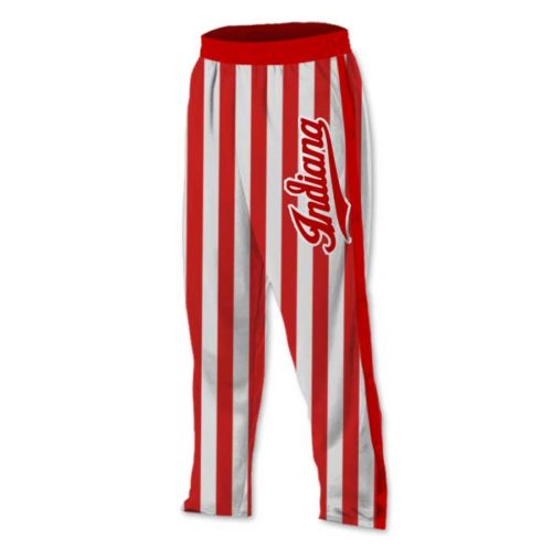 custom candy stripe basketball tearaway warmup pants