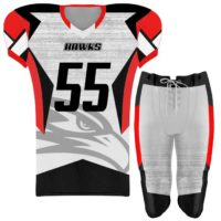 Elite Concave Football Uniform Custom Sublimated